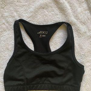Black girls jog bra